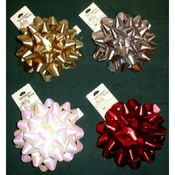 "6"" Confetti - Bow Assortment - Gift Decoration"