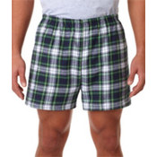 Robinson Adult Flannel Shorts Dress Gordon XL Wholesale Bulk