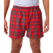 Robinson Adult Flannel Shorts Royal Stewart L Wholesale Bulk
