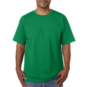 Bayside Adult Short-Sleeve Cotton Tee Irish Kelly XL