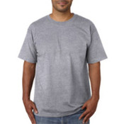 Bayside Adult Short-Sleeve Cotton Tee Dark AshL