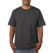 Bayside Adult Short-Sleeve Cotton Tee Charcoal S
