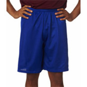 "C2 Sport Adult Mesh/Tricot 9"" Shorts Royal S"