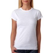 Gildan Junior-Fit Softstyle T-Shirt White M
