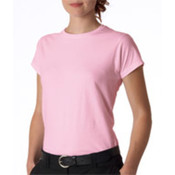 Gildan Junior-Fit Softstyle T-Shirt Light Pink S