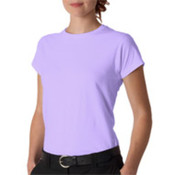 Gildan Junior-Fit Softstyle T-Shirt Orchid S