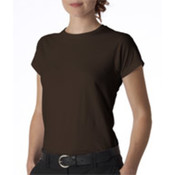 Gildan Junior-Fit Softstyle T-Shirt Dark Chocolate S