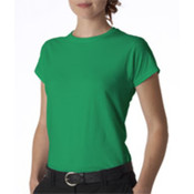 Gildan Junior-Fit Softstyle T-Shirt Irish Green L