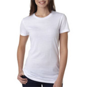 Bella+Canvas Ladies' Poly/Cotton Tee White S