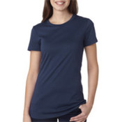 Bella+Canvas Ladies' Poly/Cotton Tee Navy M