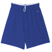 "Mens Badger Jersey Short with 7"" Inseam royal Smal"