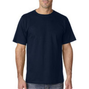 UltraClub Organic Men's Ring-Spun Organic Cotton Short-Sleeve Tee - Navy (S) Wholesale Bulk