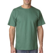 UltraClub Organic Men's Ring-Spun Organic Cotton Short-Sleeve Tee - Leaf (2XL) Wholesale Bulk