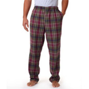 Robinson Adult Flannel Pants, Mossy Plum, XS Wholesale Bulk