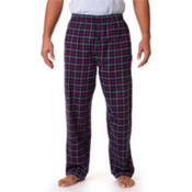 Robinson Adult Gridiron Flannel Pants, Navy/ Red, M Wholesale Bulk