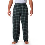Robinson Adult Gridiron Flannel Pants, Hunter/ Black, XL Wholesale Bulk