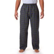 Robinson Adult Gridiron Flannel Pants, Navy/ Gold, 2XL Wholesale Bulk