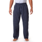 Robinson Adult Gridiron Flannel Pants, Navy/ Grey, L Wholesale Bulk