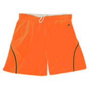 Badger B-Core 5' Girls Closer Shorts - Safety Orange/Black (S) Wholesale Bulk