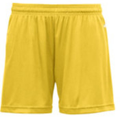 Badger B-Core Girls 4' Performance Shorts - Gold (M) Wholesale Bulk