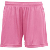 Badger B-Core Girls 4' Performance Shorts - Pink (L) Wholesale Bulk