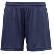 Badger B-Core Girls 4' Performance Shorts, Navy, S Wholesale Bulk