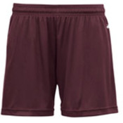 Badger B-Core Girls 4' Performance Shorts - Maroon (XS) Wholesale Bulk