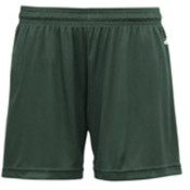 Badger B-Core Girls 4' Performance Shorts - Forest Green (M) Wholesale Bulk