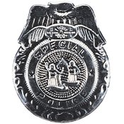 Rubies Costumes Badge Police Silver, Silver, One Size Wholesale Bulk