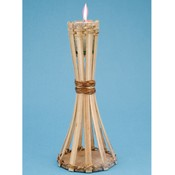 Natural Bamboo Mini Table Torch Wholesale Bulk