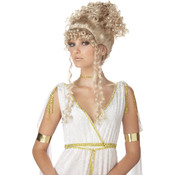 Athenian Goddess Wig - Blonde, Yellow, Wholesale Bulk
