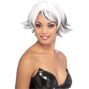 Venturous Storm Adult Wig, White, One Size Wholesale Bulk