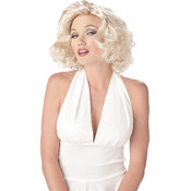 Sexy Marilyn Wig, White, One-Size Wholesale Bulk