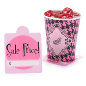 Party Destination Fashionista Price Tag Coasters Wholesale Bulk