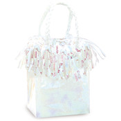 Unique Iridescent Mini Gift Bag Balloon Weight Wholesale Bulk