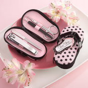 Pink Flip Flop Pedicure Set