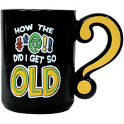 Question Mark 'Old' Coffee Mug Wholesale Bulk