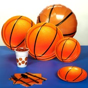 Wholesale Basketball Party Supplies - Wholesale Basketball Party Favors - Basketball Deorations