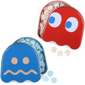 Boston America Corp. Pac Man Ghost Sours Candy Tin 1 Piece Wholesale Bulk