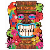 Amscan Tiki Summer - Invitations Wholesale Bulk