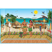 Luau Scene Kit Wholesale Bulk