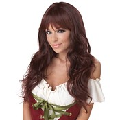 Coquette (Brunette) Adult Wig, Brown, Wholesale Bulk