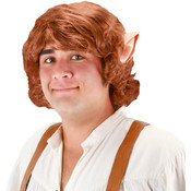 Elope The Hobbit Bilbo Baggins Wig With Ears, Red, One-Size Wholesale Bulk