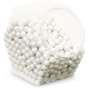 Sweetworks Shimmer White Sixlets Candy Wholesale Bulk