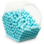 Sweetworks Shimmer Powder Blue Sixlets Candy Wholesale Bulk