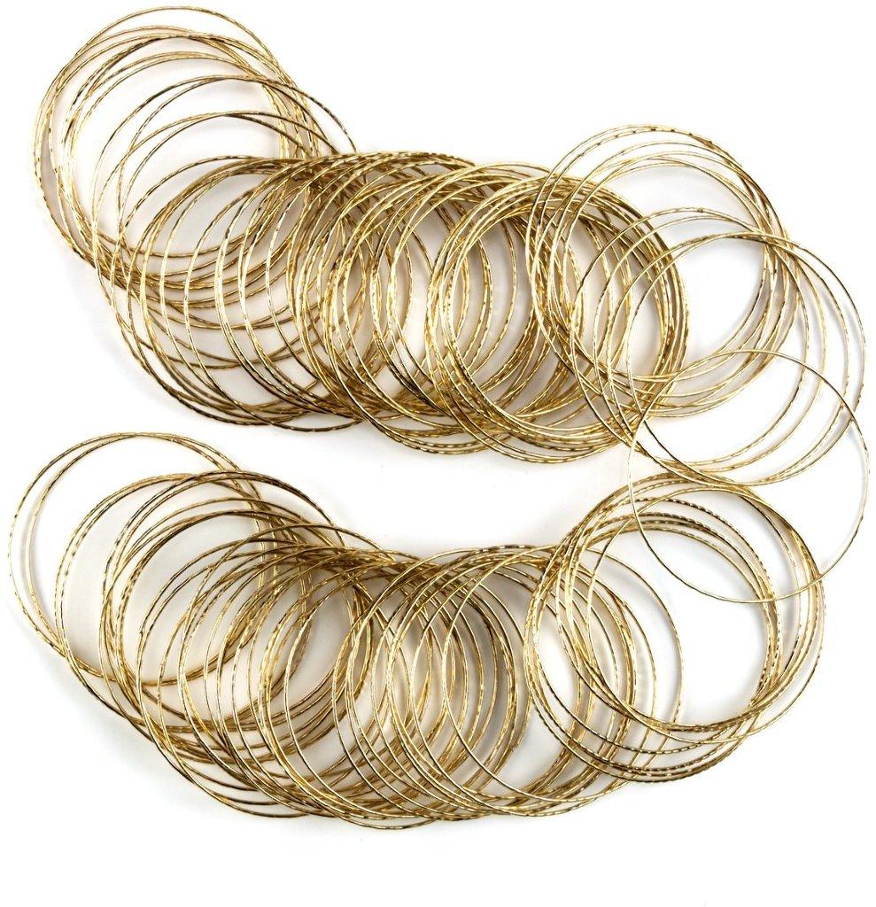 Gold BANGLEs [1439841]
