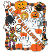 FR Halloween Decorating Kit - 24 Pcs