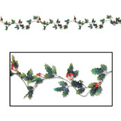 Holly & Berry Garland