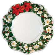 Italian Tableware - Poinsettia Medium Bowls