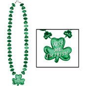 Wholesale St Patricks Day Beads - Wholesale St Pattys Day Necklaces